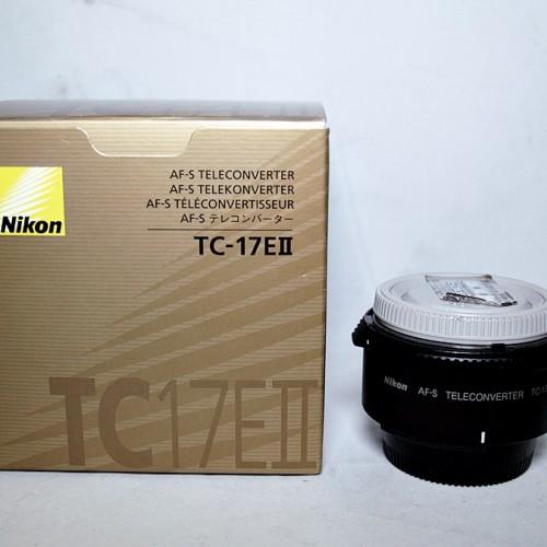 ニコンのカメラレンズ「AI AF-S TC-17EⅡ TELECONVERTER」買取実績
