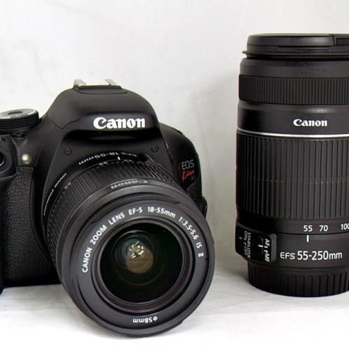 キャノンのデジタル一眼レフカメラ「EOS Kiss X5 ダブルズームキット」買取実績