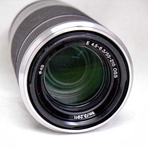 ソニーのカメラレンズ「SEL55210」買取実績