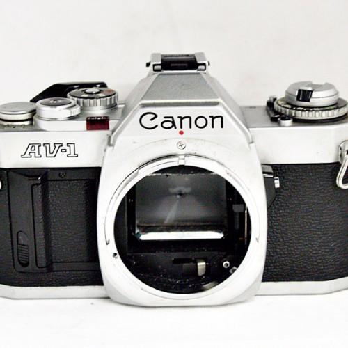 キャノンのフィルム一眼カメラ「AV-1」買取実績