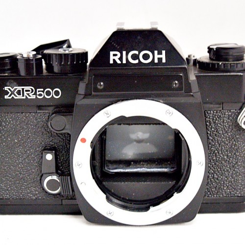 リコーのフィルム一眼カメラ「XR500」買取実績