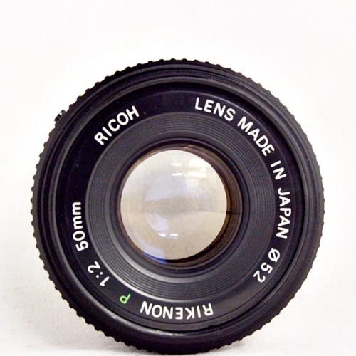 リコーのカメラレンズ「RIKENON P 50mm F2」買取実績