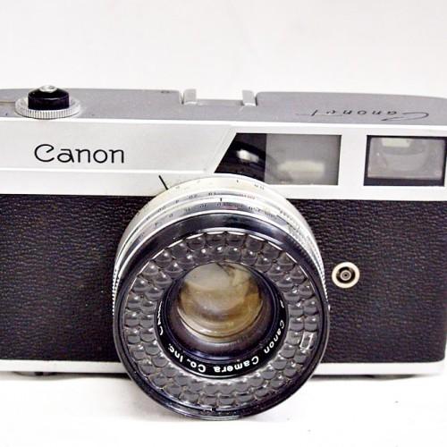 キャノンのレンジファインダーカメラ「Canonet」買取実績