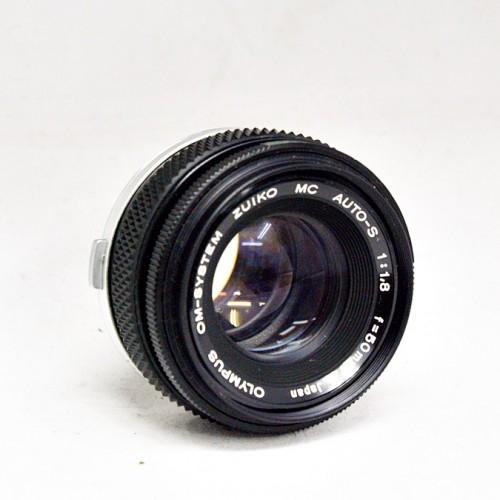 オリンパスのカメラレンズ「OM ZUIKO MC AUTO-S 50mm F1.8」買取実績