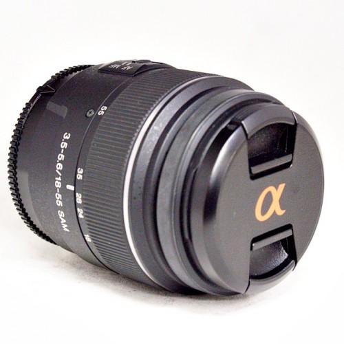 ソニーのカメラレンズ「SAL1855」買取実績