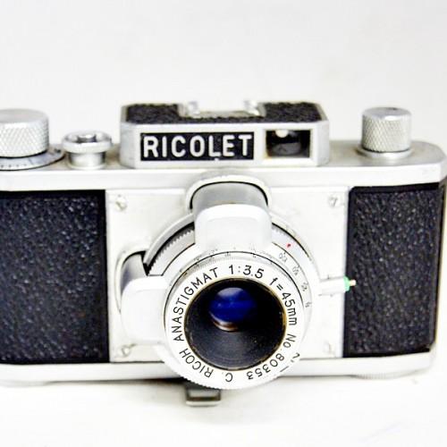 リコーのレンジファインダーカメラ「RICOLET」買取実績
