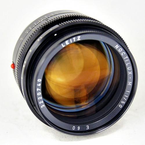 ライカのカメラレンズ「NOCTILUX-M 50mm F1.0」買取実績