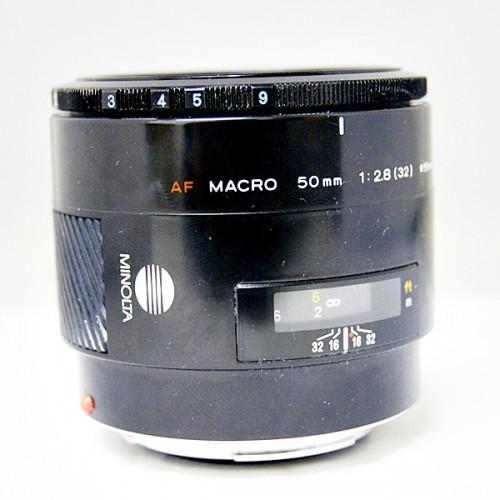 ミノルタのカメラレンズ「AF 50mm MACRO」買取実績