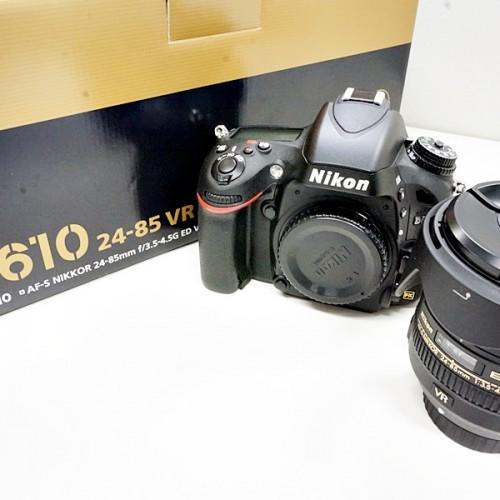 ニコンのデジタル一眼レフカメラ「D610 24-85 VR KIT」買取実績