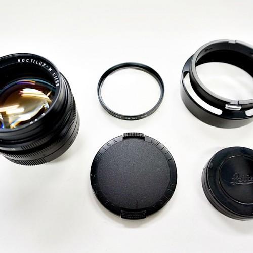 ライカのデジタル一眼レフカメラ「NOCTILUX-M 50mm」買取実績