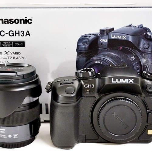 パナソニックのミラーレスカメラ「LUMIX DMC-GH3A」買取実績