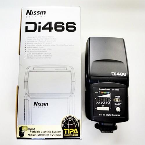 ニッシンのストロボ「Di466 FTB」買取実績