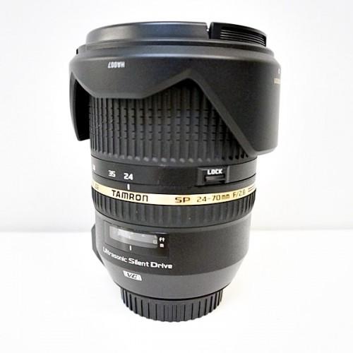 タムロンのカメラレンズ「SP 24-70mm F2.8」買取実績