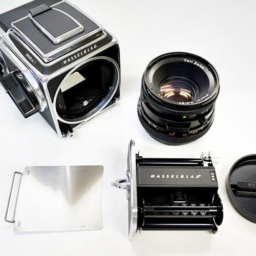 ハッセルブラッドのレンジファインダーカメラ「503CXI PLANAR 80mm F2.8」買取実績