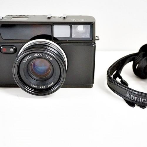 コニカのフィルムコンパクトカメラ「HEXAR 35」買取実績