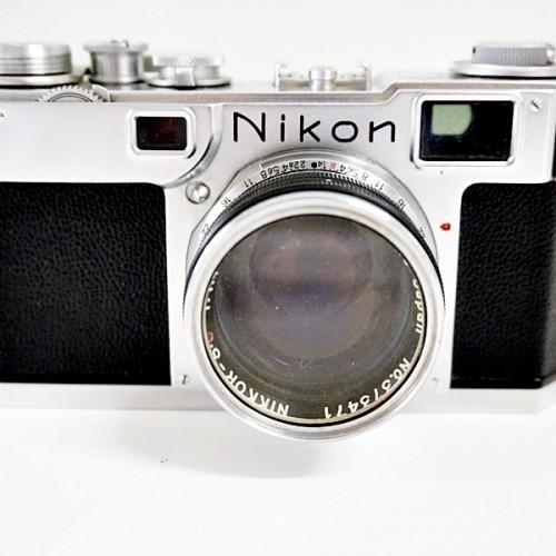 ニコンのレンジファインダーカメラ「S2」買取実績