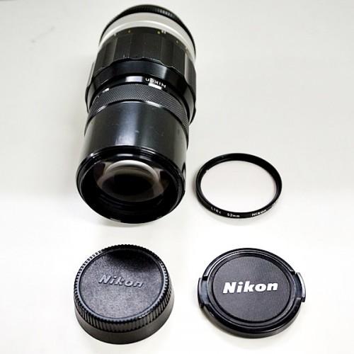 ニコンのカメラレンズ「NIKKOR-Q AUTO 200mm F4」買取実績