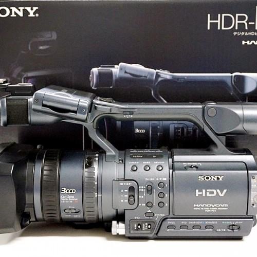 ソニーのビデオカメラ「HDR-FX1」買取実績