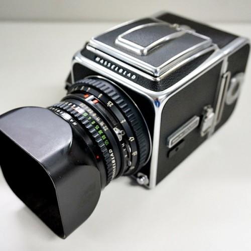 ハッセルブラッドの中判カメラ「500C/M」買取実績