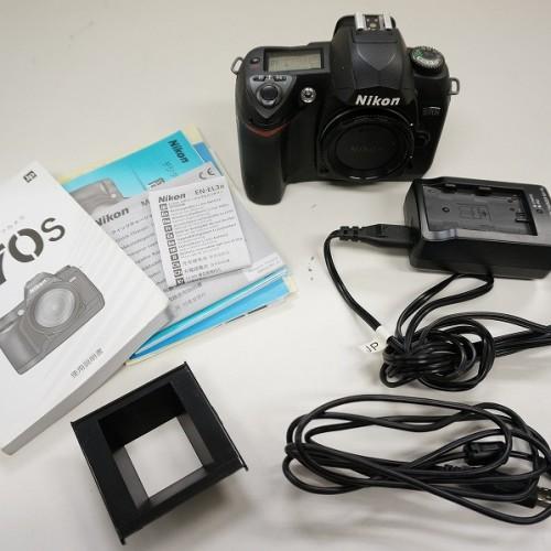 ニコンのデジタル一眼レフカメラ「D70S」買取実績