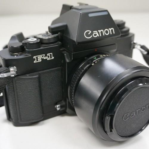 キャノンのフィルム一眼レフカメラ「NEW F-1 50mm F1.4 レンズキット」買取実績