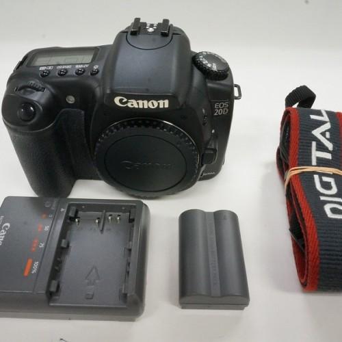 キャノンのデジタル一眼レフカメラ「EOS 20D」買取実績