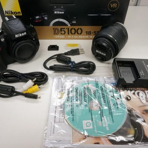 ニコンのデジタル一眼レフカメラ「D5100 ダブルズームキット」買取実績