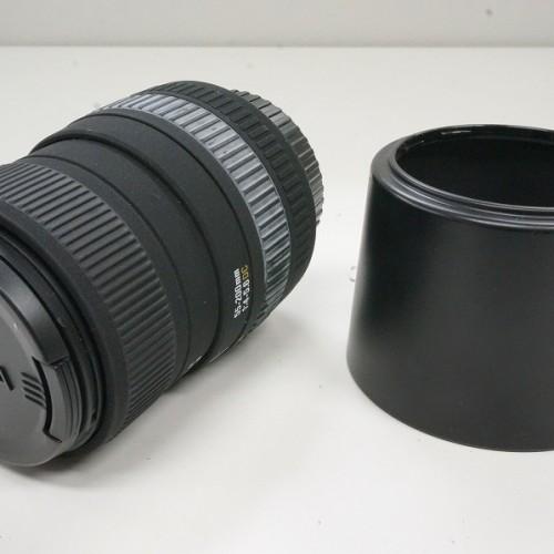 シグマのレンズ「55-200mm F4-5.6 DC」買取実績