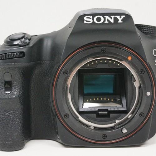 ソニーのデジタル一眼レフカメラ「α58」買取実績