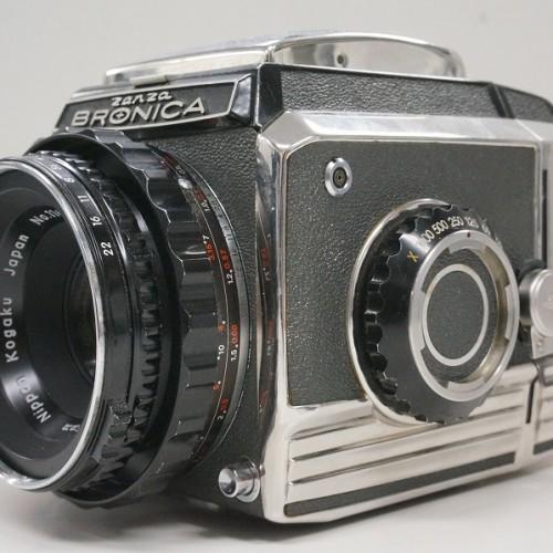 ゼンザブロニカの中判カメラ「S2」買取実績
