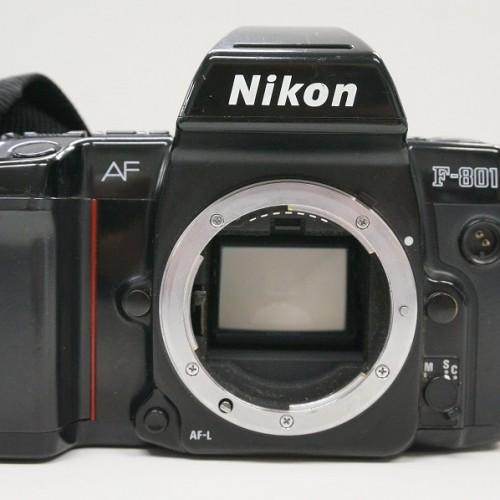 ニコンのフィルム一眼レフカメラ「F-801」買取実績
