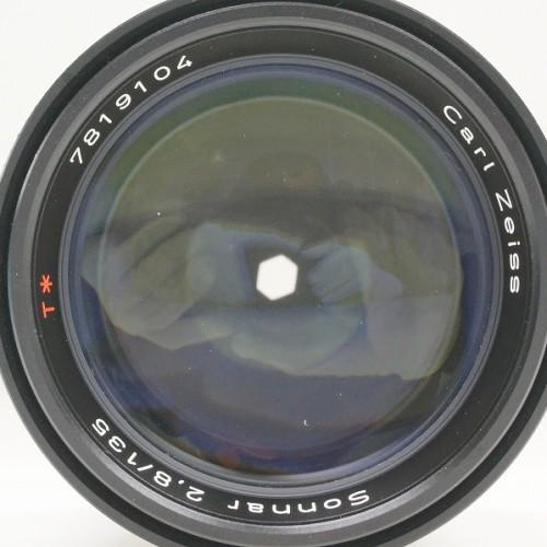 カールツァイスのレンズ「Sonnar T* 135mm F2.8 MM」買取実績