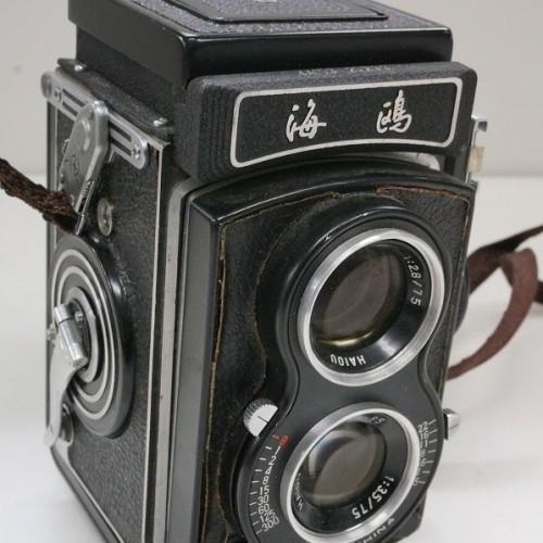 上海海鷗照相機の二眼カメラ「海鷗4A」買取実績