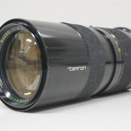 タムロンのレンズ「ZOON MACRO 85-210mm F4.5」買取実績