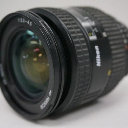 ニコンのレンズ「AF NIKKOR 24-50mm F3.3-4.5」買取実績