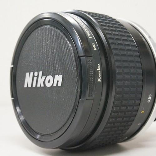 ニコンのレンズ「AI NIKKOR 85mm F1.4S」買取実績