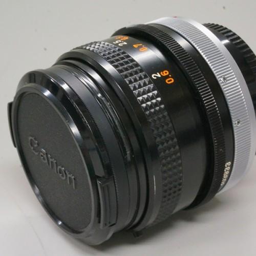 キャノンのレンズ「FD50mm F1.8 S.C.」買取実績