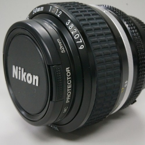 ニコンのレンズ「AI Nikkor 50mm F1.2S」買取実績