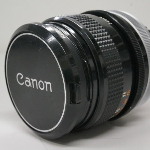 キャノンのレンズ「FD28mm F2.8 S.C.」買取実績