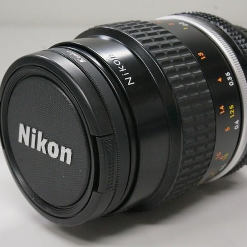 ニコンのレンズ「Ai Micro-Nikkor 55mm F2.8S」買取実績