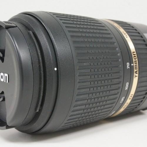 タムロンのレンズ「SP 70-300mm F4-5.6 Di VC USD」買取実績