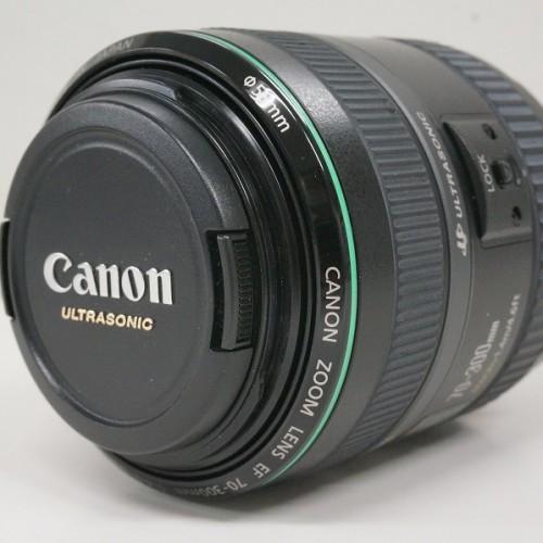 キャノンのレンズ「EF70-300mm F4.5-5.6 DO IS USM」買取実績