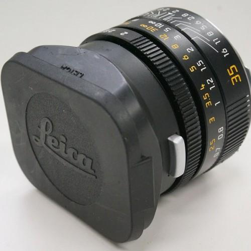 ライカのレンズ「SUMMICRON-M 35mm F2 ASPH. E39」買取実績