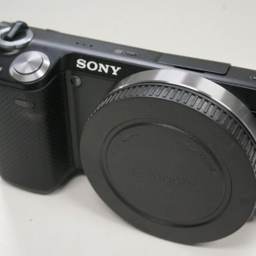 ソニーのミラーレスカメラ「α NEX-5N」買取実績