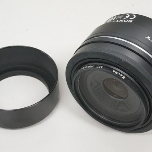 ソニーのレンズ「SAL30M28 30mm F2.8 MACRO」買取実績