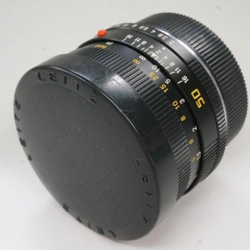 ライカのレンズ「SUMMICRON-R 50mm F2 CANADA」買取実績