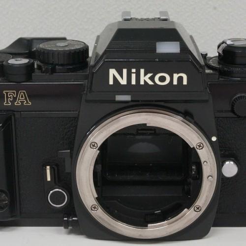 ニコンのフィルム一眼レフカメラ「FA」買取実績