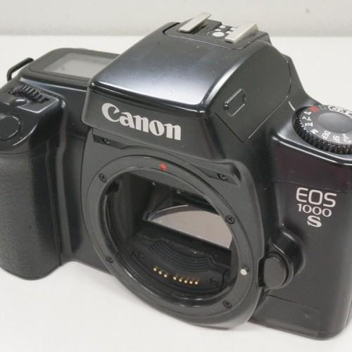 キャノンのフィルム一眼レフカメラ「EOS 1000S」買取実績