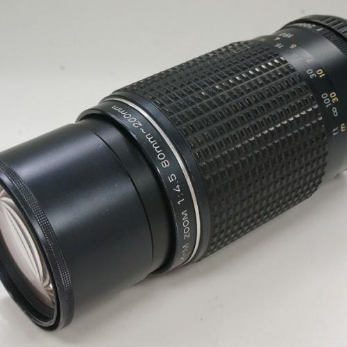 ペンタックスのレンズ「smc M 80-200mm F4.5」買取実績