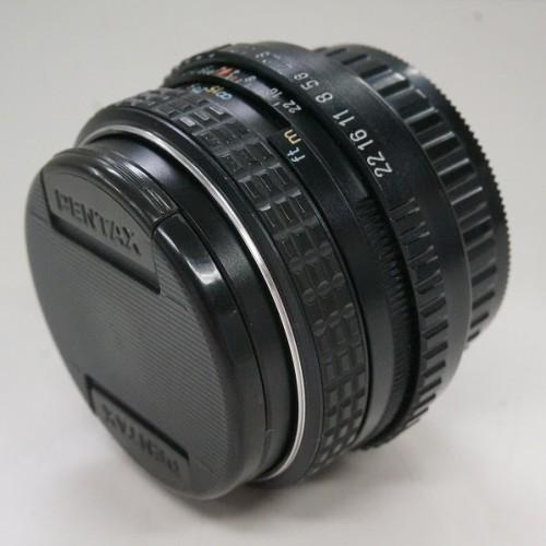 ペンタックスのレンズ「smc M 50mm F1.7」買取実績